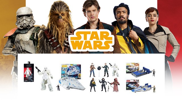 Hasbro UK | Where Is All the Solo: A Star Wars Story Merchandise?!