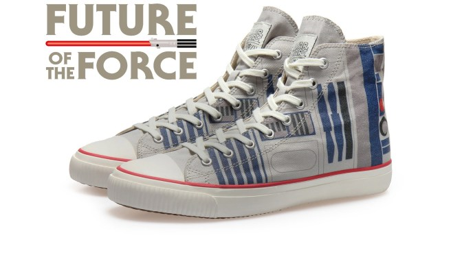 Po-Zu | Incredible New R2-D2 Sneakers Are Coming to a Galaxy Near You