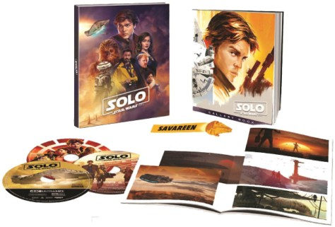 Solo A Star Wars Story Target Exclusive Blu-Ray