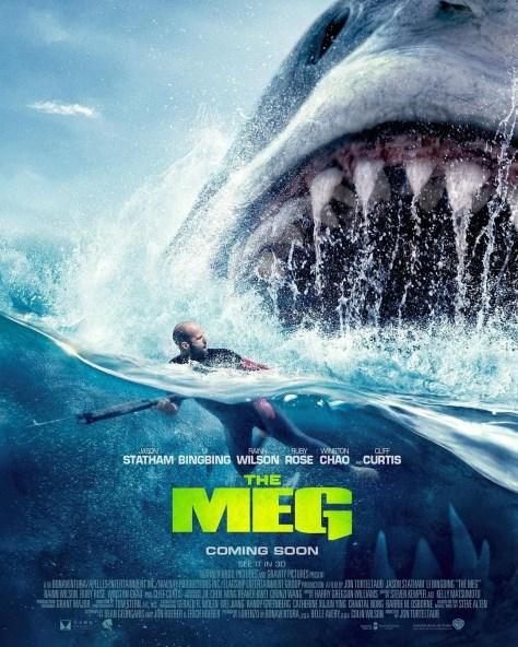 The Meg | Nostalgic New Posters Pay Homage to Steven Speilberg's Jaws