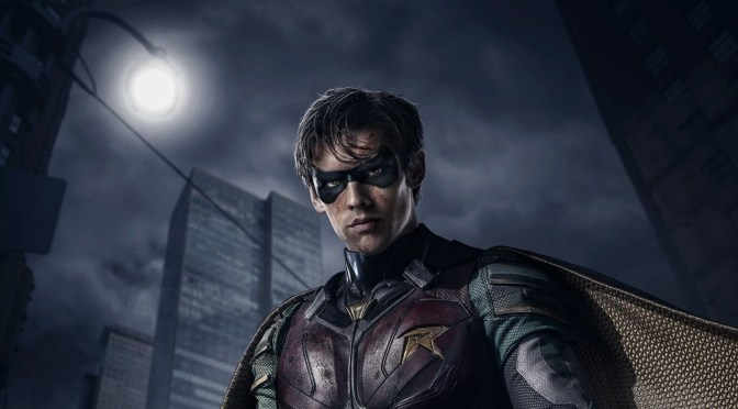 Robin Steps Out of Batman's Shadow in the Debut Trailer for DC Universe Series Titans