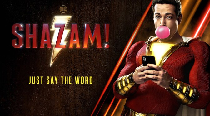 Shazam! | The New Poster Wants You To Say The Word!