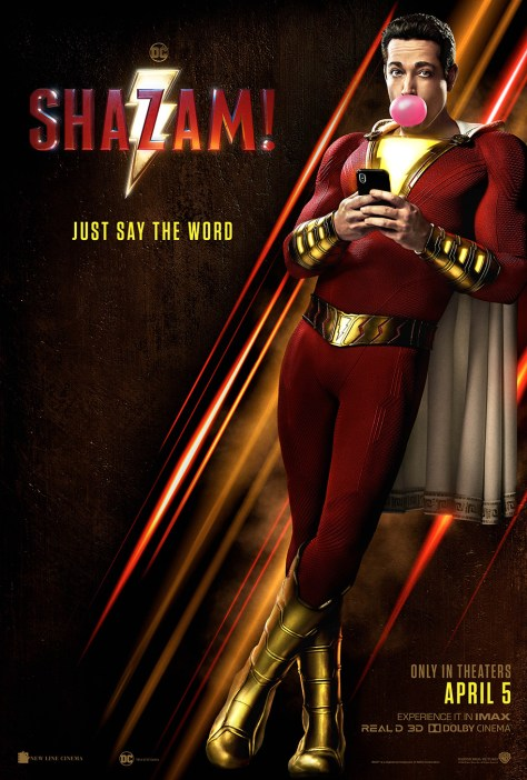 Shazam! | New Poster Unveiled