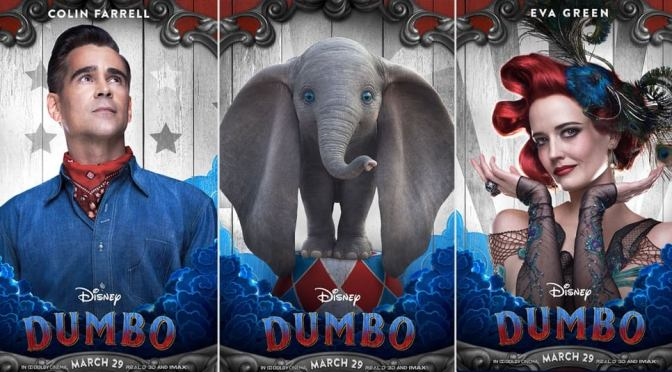 Dumbo | Disney Releases 5 Enchanting Character Posters from Tim Burton's Live-Action Reimagining