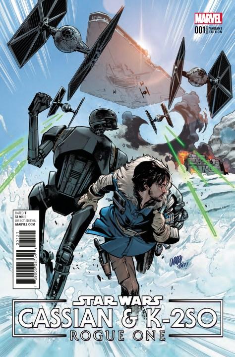 Comic Review   Star Wars: Cassian & K-2SO