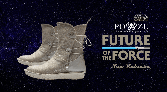Po-Zu | Star Wars Sparkles With Po-Zu's New Rey Silver Boots