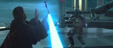 Obi-Wan vs Jango Attack of the Clones