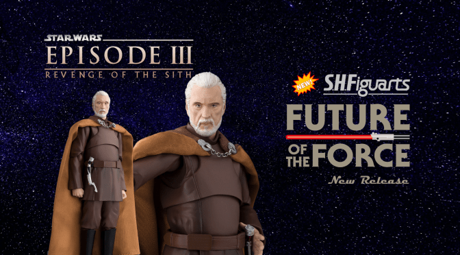 First Look | S.H Figuarts Count Dooku (Star Wars: Revenge of the Sith)
