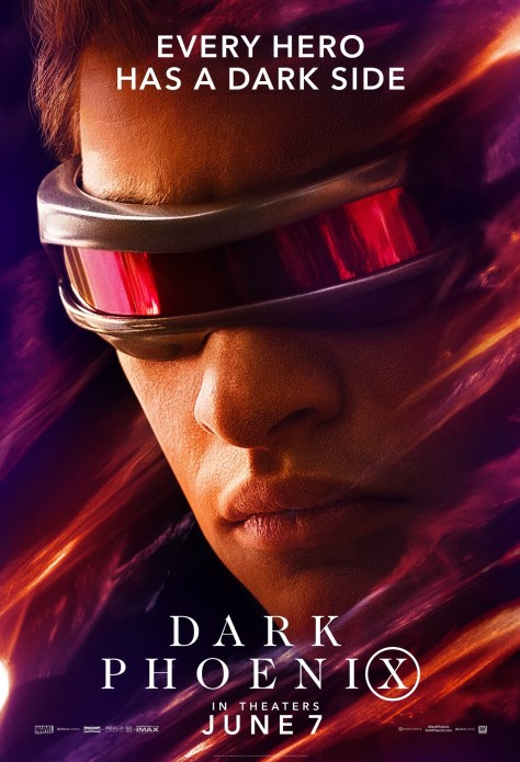 X-Men | New Character Posters For Dark Phoenix Reveal Every Hero Has a Dark Side