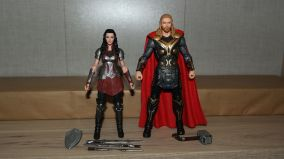 Marvel Legends Review Thor & Sif Double Pack 5