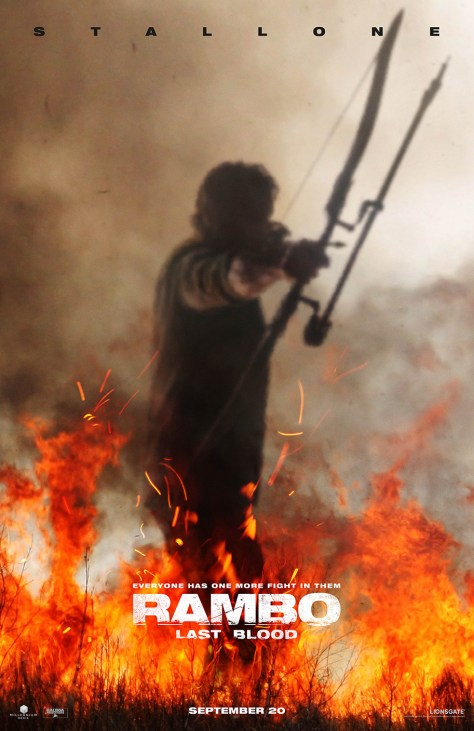 Stallone is Out for Blood in the Teaser Trailer for Rambo: Last Blood