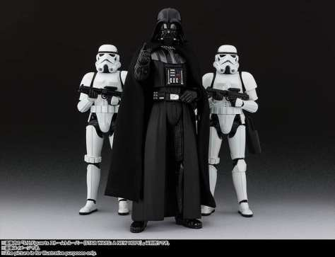 S.H Figuarts Darth Vader (Return of the Jedi) Reveal 2