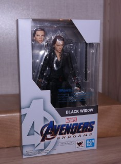 S.H. Figuarts Review | Black Widow (Avengers Endgame)