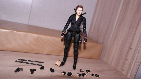 S.H Figuarts Review Black Widow (Avengers Endgame) 3