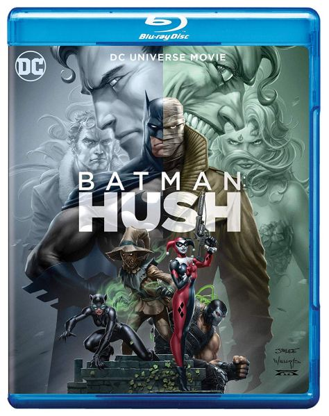 Batman Hush Blu-Ray
