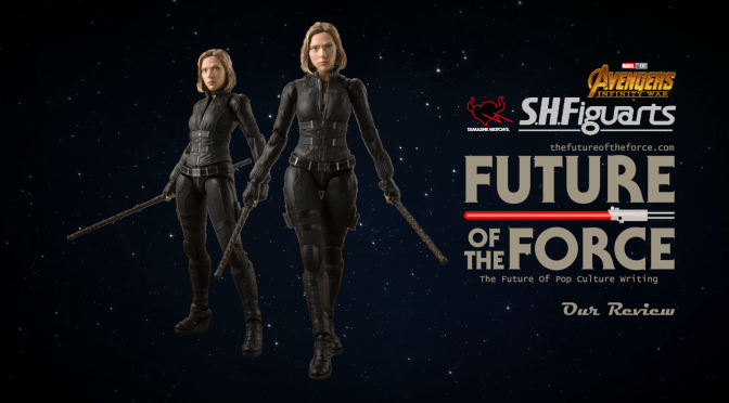 S.H. Figuarts Review | Black Widow (Avengers: Infinity War)