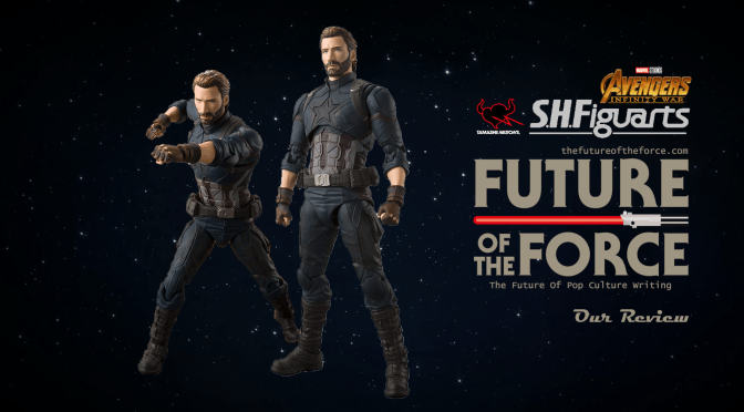 S.H. Figuarts Review | Captain America & Tamashii Effect Explosion (Avengers: Infinity War)