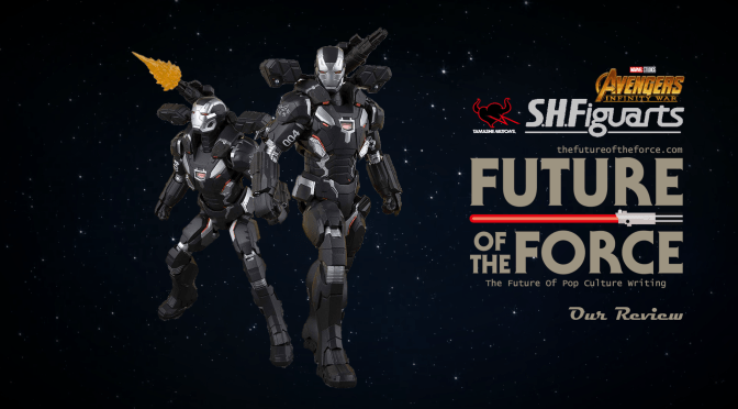 S.H. Figuarts Review | War Machine MK-4 (Avengers: Infinity War) Web Premium Exclusive