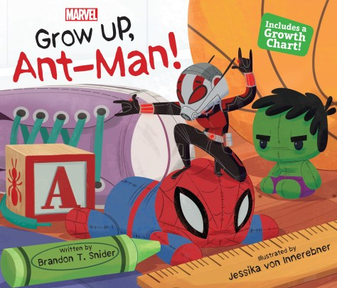 Book Review | Grow Up, Ant-Man