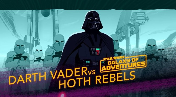 Star Wars: Galaxy of Adventures | Darth Vader vs. Hoth Rebels - Crushing the Rebellion