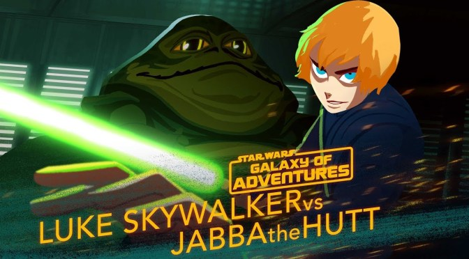 Star Wars: Galaxy of Adventures | Luke vs. Jabba – Sail Barge Escape