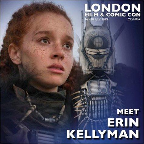 London Film & Comic Con | Erin Kellyman Attending