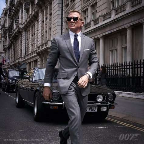 Daniel Craig Brings 007 Back to London in New Video
