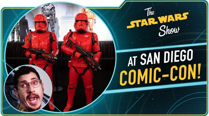The Star Wars Show | We Brushed Kylo Ren's Hair at San Diego Comic-Con