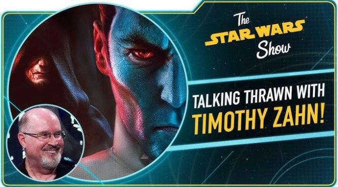 The Star Wars Show | Thrawn: Treason with Timothy Zahn