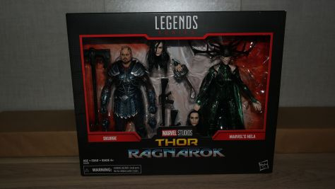 Marvel Legends Review | Hela and Skurge (Thor Ragnarok)