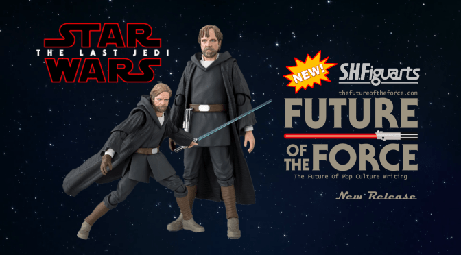 S.H. Figuarts News | Luke Skywalker (Crait) The Last Jedi Revealed