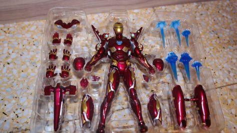S.H. Figuarts Review | Iron Man MK-50 Nano Weapon Set 2 (Avengers Endgame)