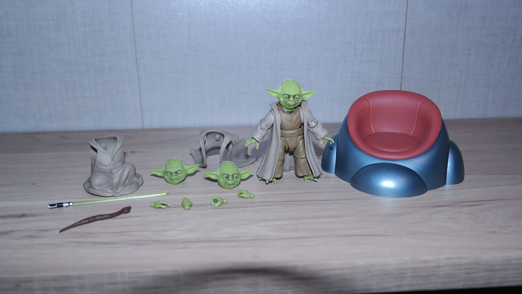 Bandai S H Figuarts Star Wars Yoda Revenge Of The Sith Japan Version