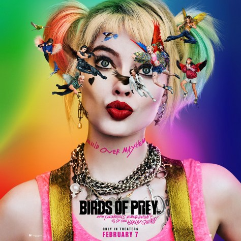 Harley Quinn Goes Cuckoo On the New Poster for Birds of Prey