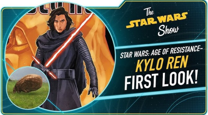 The Star Wars Show | Kylo Ren Follows Darth Vader and Resistance Wins a Saturn Award