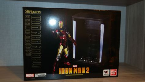 S.H. Figuarts Review | Iron Man Mark VI & Hall of Armor (Iron Man 2)