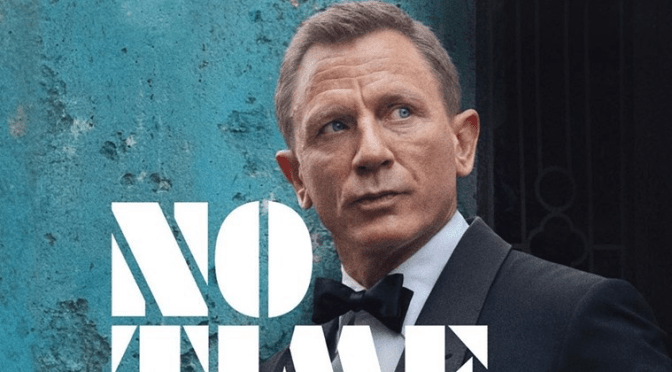 "007 Returns in the New Poster for ""No Time To Die"""