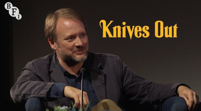 Knives Out | Rian Johnson Screentalk at BFI London Film Festival