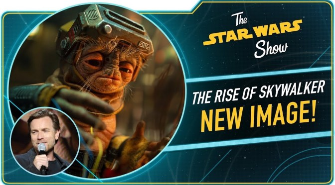 The Star Wars Show | Brand New Alien From Star Wars: The Rise of Skywalker, meet Babu Frik