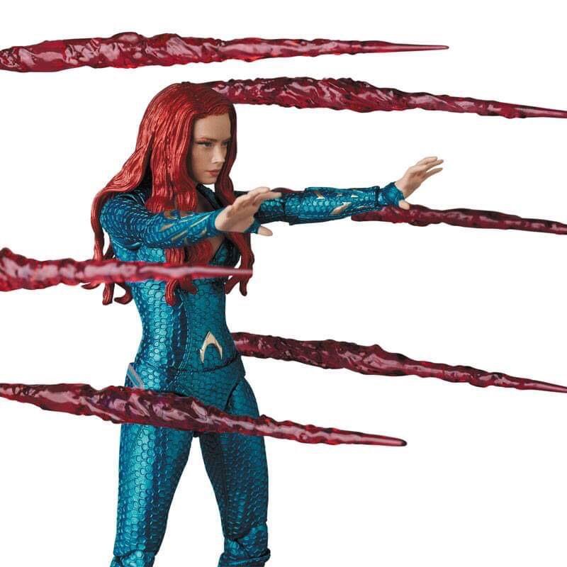 First Look | Mera (Aquaman) Mafex Medicom Toys-7