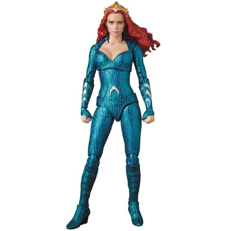 First Look | Mera (Aquaman) Mafex Medicom Toys