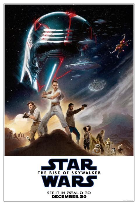 Star Wars: The Rise Of Skywalker RealD 3D Poster