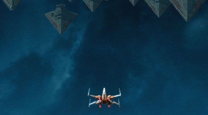 Poe's X-Wing Confronts the Imperial Fleet in new The Rise of Skywalker Poster