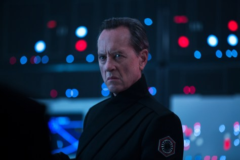 Richard E. Grant is Pryde in STAR WARS: THE RISE OF SKYWALKER.