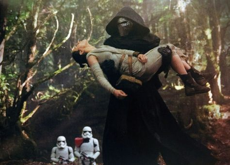 Rey Kidnapped The Force Awakens