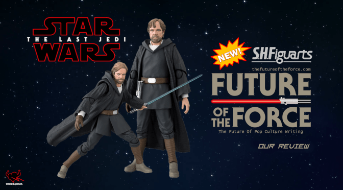 S.H. Figuarts Review | Luke Skywalker (Crait) W/ Bonus Emblem Stage (The Last Jedi)