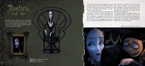The Addams Family: The Art of the Animated Movie Morticia