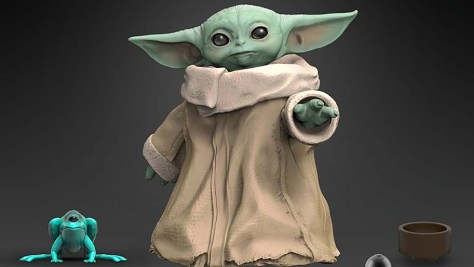 Baby Yoda Hasbro Toy 1 The Mandalorian