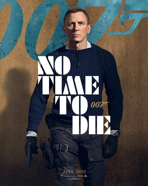 Daniel Craig James Bond No Time To Die Poster