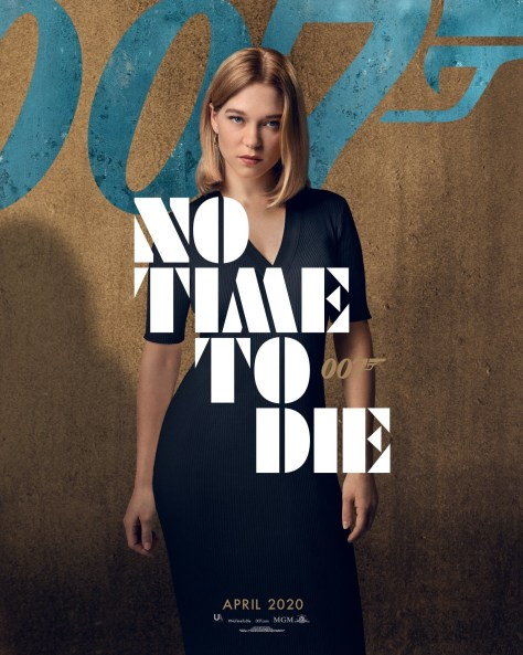 Léa Seydoux No Time To Die Poster